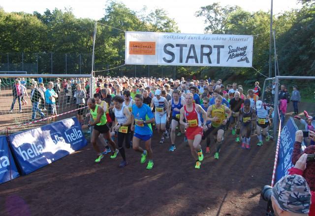 Start des 16. hella Laufcup Hamburg