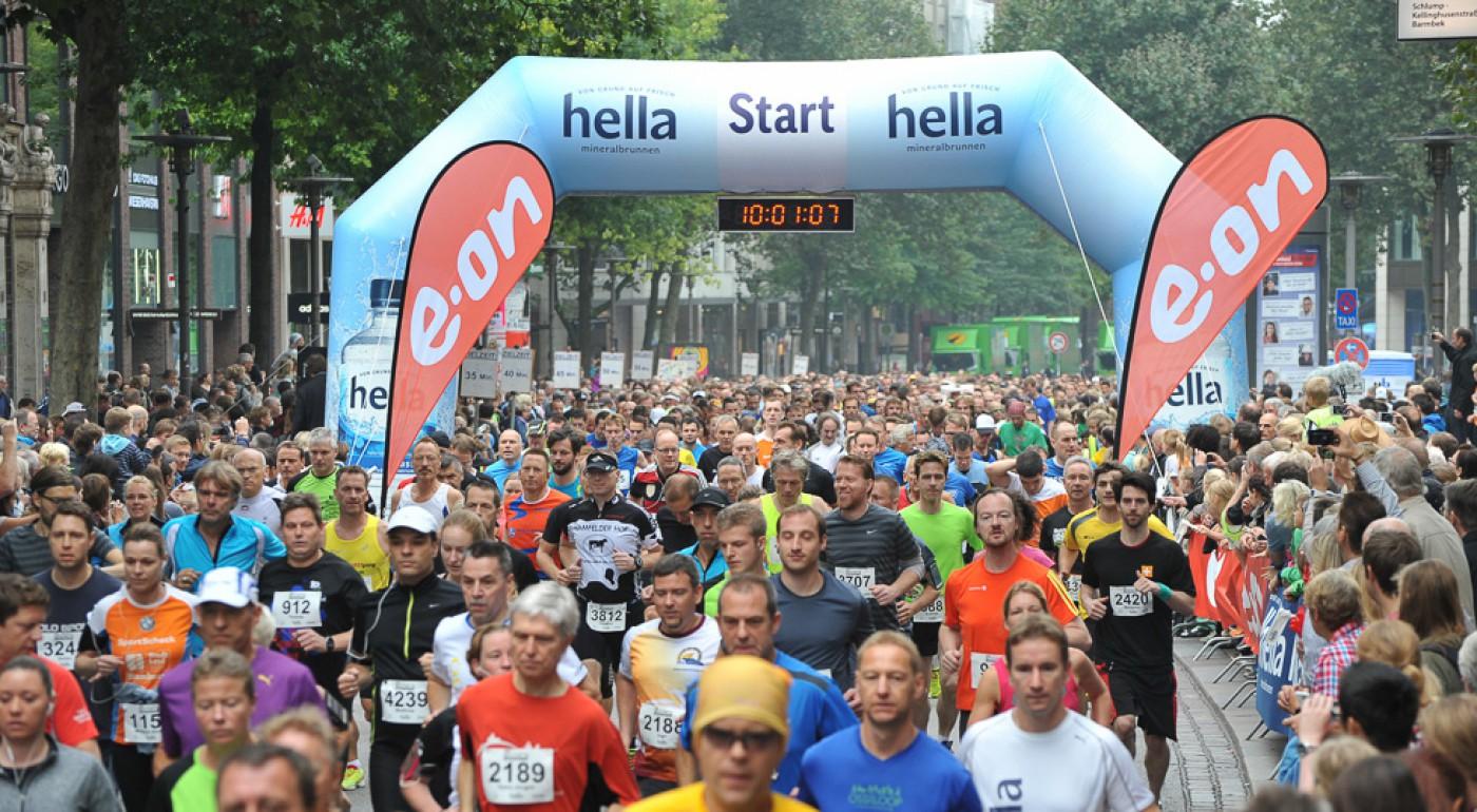 07 09 2014, Hamburg, 25. Alsterlauf ,
