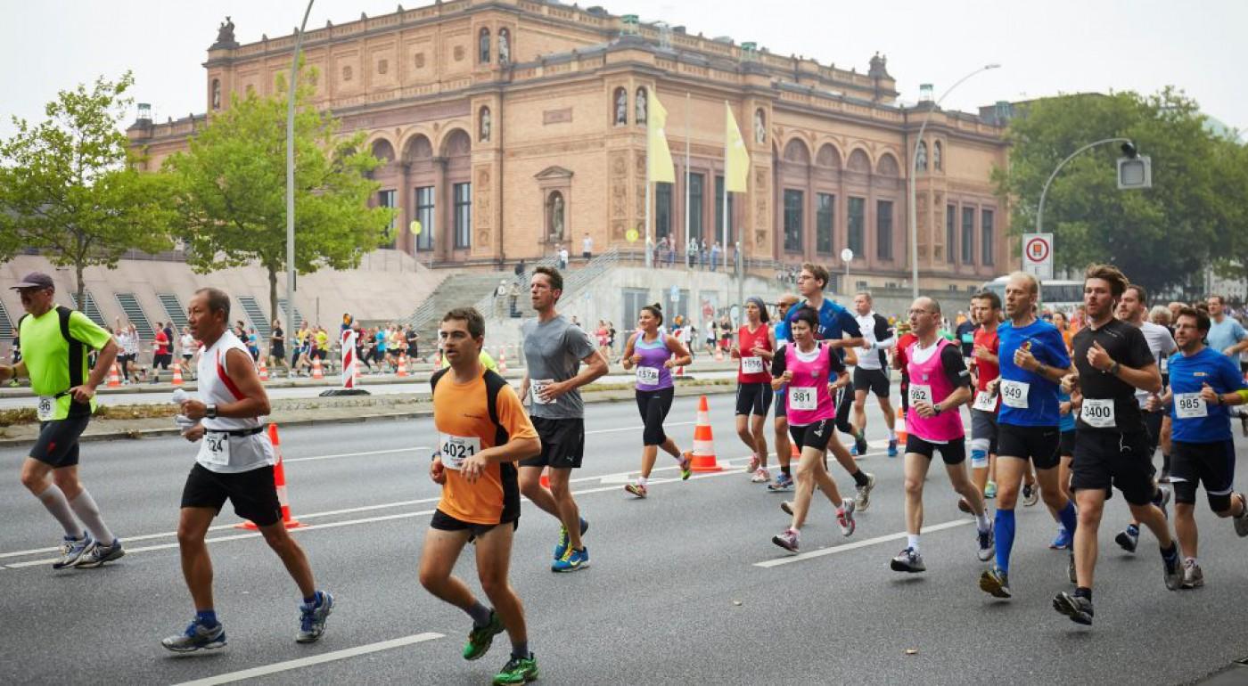 25. Internationaler Alsterlauf am 07.09.2014 in Hamburg