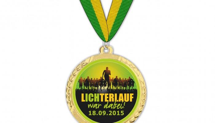 Lichterlauf_Medaille 2015