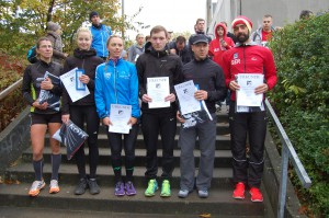Siegerehrung 24. Bramfelder Halbmarathon
